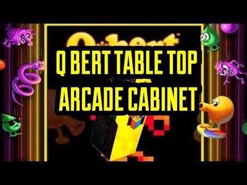 4K QBERT TABLE TOP ARCADE CABINET REVIEW