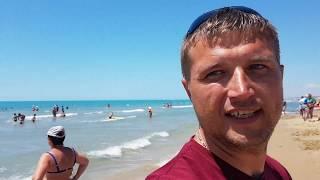 Анапа. Джемете погода 26.06.2017 центральный пляж