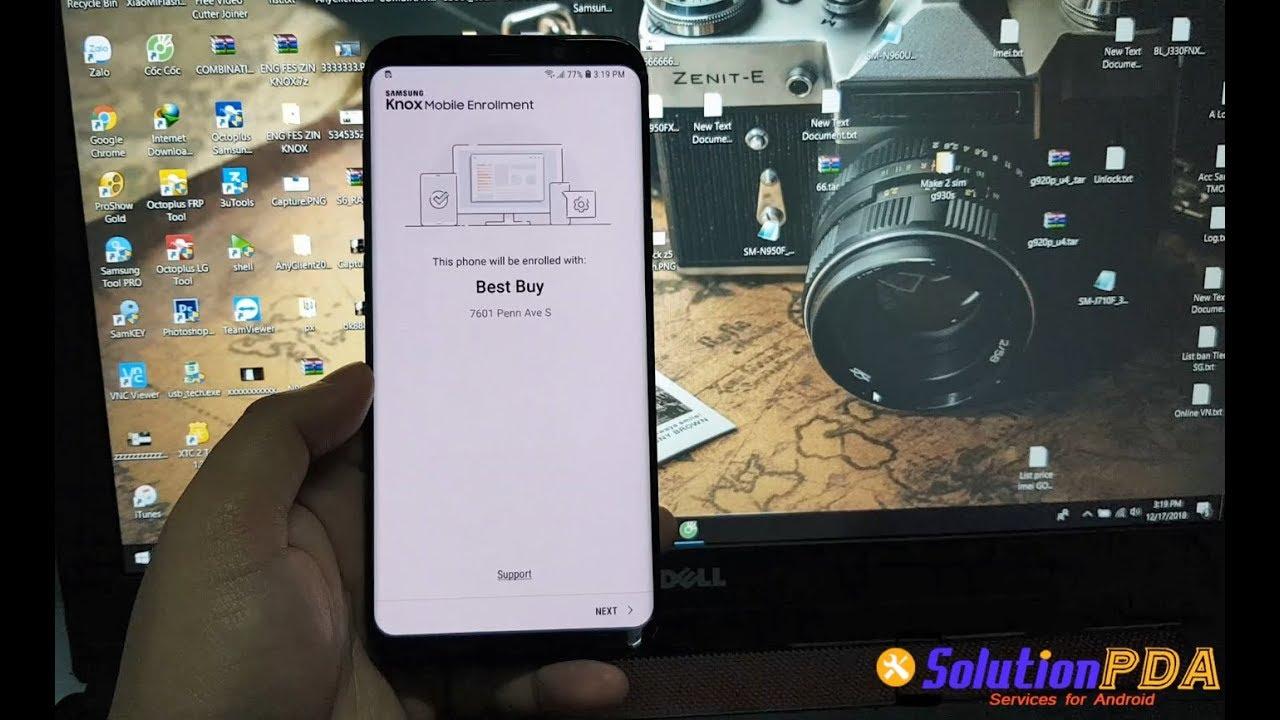 Remove Bypass MDM Knox Best Buy Samsung S8+ G955U Note 8 N950U