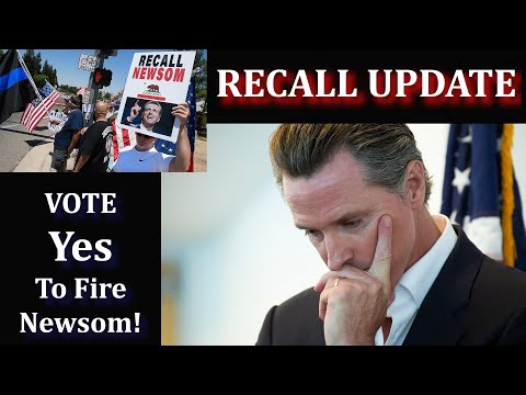 Recall of Gavin Newsome Update - With Sam Paredes & Rick Travis