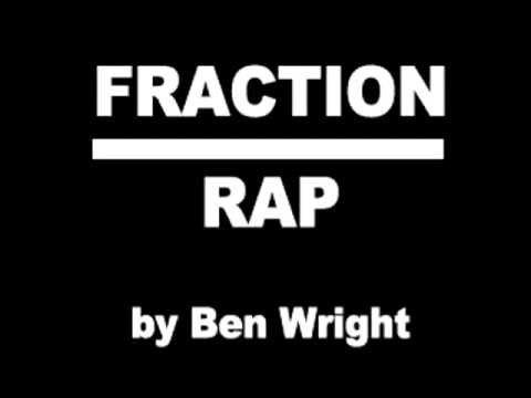 Fraction Rap  by Ben Wright