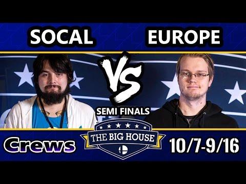 TBH6 SSBM Crews - SoCal Vs. Europe - Smash Melee Semifinals