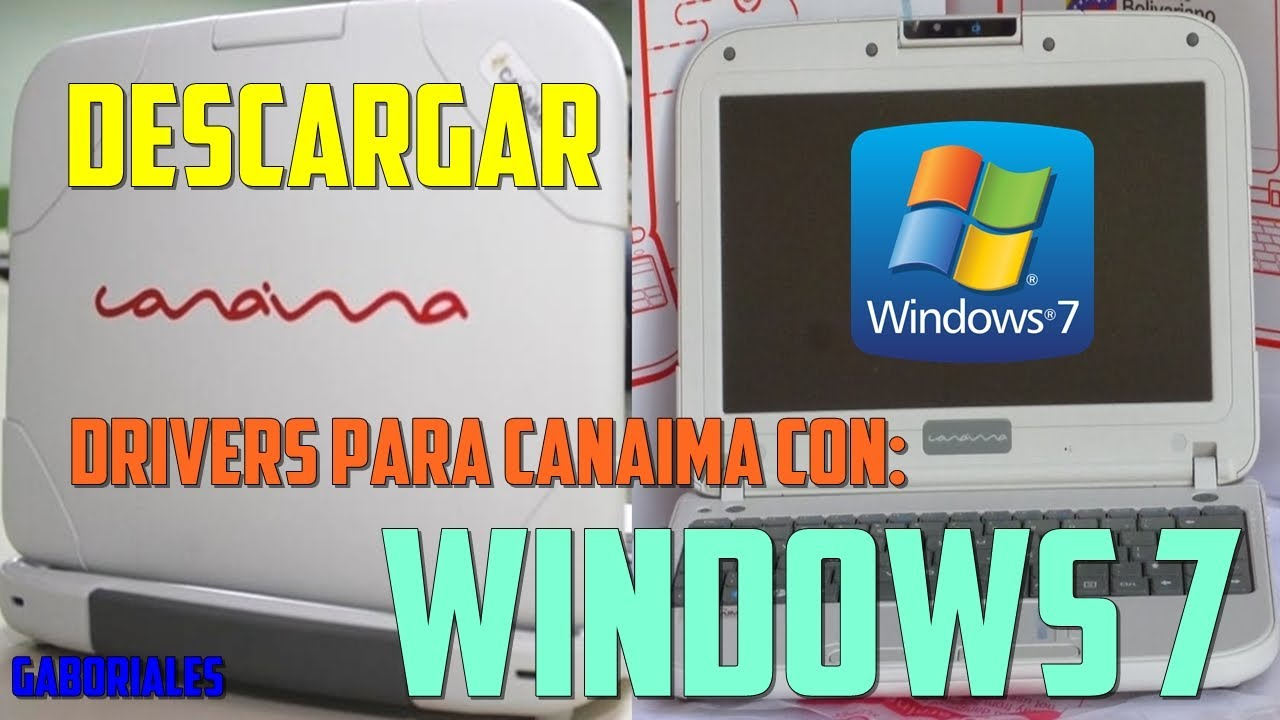descargar driver de video para windows 7 canaima azul