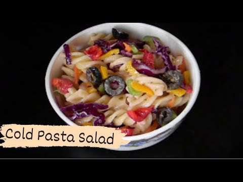 Cold Pasta Salad | Healthy Pasta /Salad Recipe | Food Fiestaa