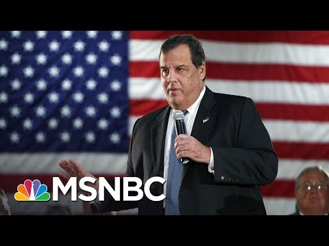 Governor Chris Christie Closes NJ Parks, But Still Hits The Beach | MSNBC