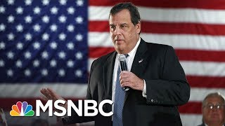 Governor Chris Christie Closes NJ Parks, But Still Hits The Beach | MSNBC thumbnail