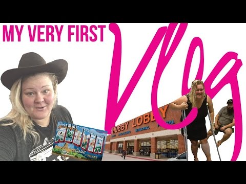 My First Vlog! - YouTube