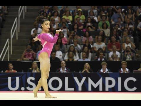 Olympic gold medalist Laurie Hernandez visits Atlanta, discusses Tokyo...