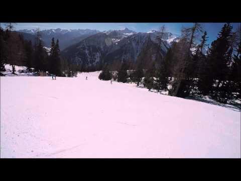 Piste da sci Pejo: pista rossa Scoiattolo