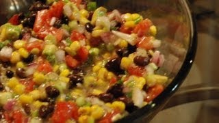 How To Make Texas Caviar Aka Mexican Caviar Recipe ~ By Foodjazz
