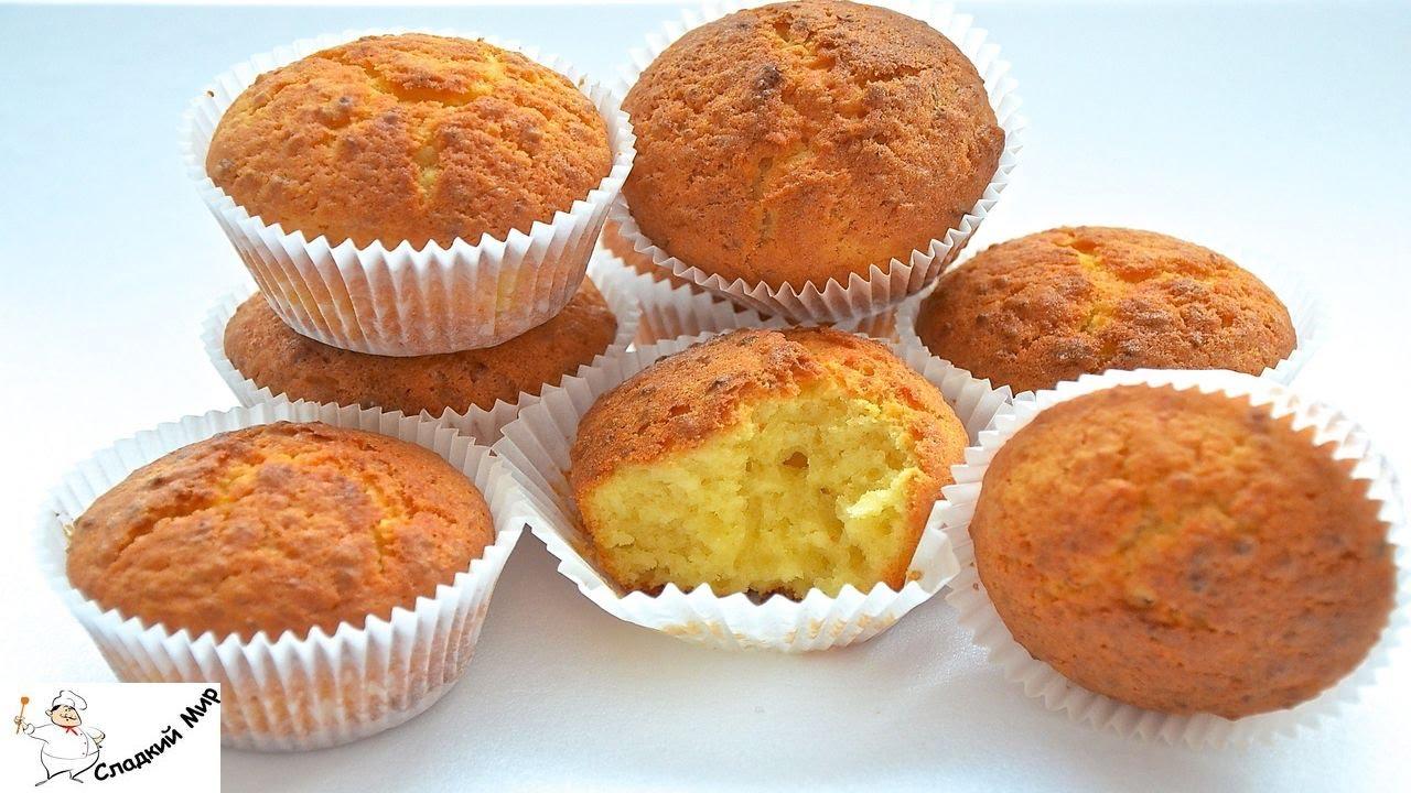 простые и быстрые рецепты кексов