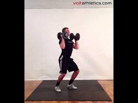 DB Hang Clean | Volt Athletics