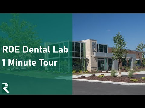 ROE Dental Laboratory Tour - 1 Minute