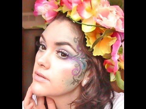 ☆Fairy Princess Makeup Tutorial☆ Halloween 2013 - YouTube