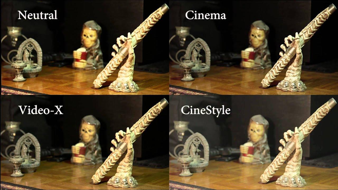 Cinestyle для canon скачать