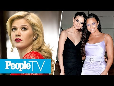 Kelly Clarkson Reveals She Contemplated Suicide, Selena Gomez & Demi Lovato Epic Reunion | PeopleTV