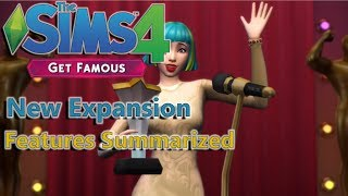 The Sims 4 Get Famous Expansion Pack News