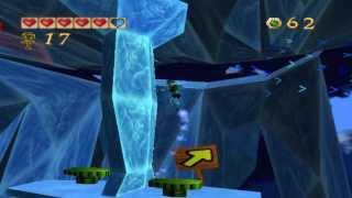 Pandemonium PC gameplay. (HQ).  Level 17 - Frozen Cavern.