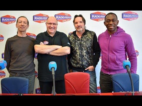 L'interview de Richard Jaquier - Chanteur - Alain Marie Producteur et Badile Lubamba - Footballeur