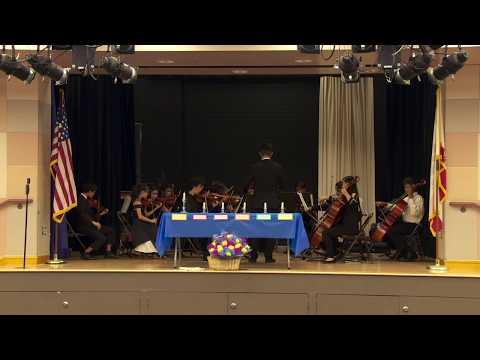 National Junior Honor Society Induction Ceremony - Plaza Vista Irvine, California 2019-2020