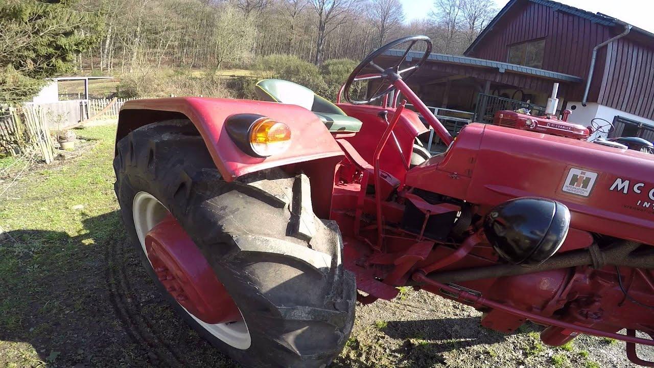 Mc Cormick Bedienungsanleitung  für Traktor Farmall DLD-2