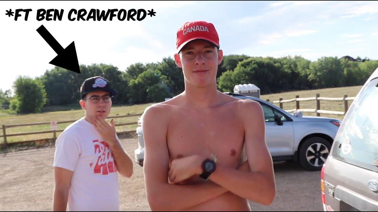 WE RAN WITH OREGON!! *featuring Ben Crawford*