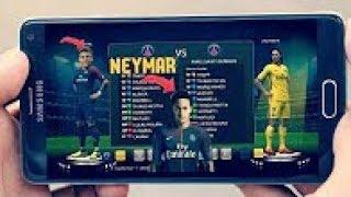 حصريا تحميل لعبة pes 2018 psp للاندرويد اخر الانتقالات neymar to paris