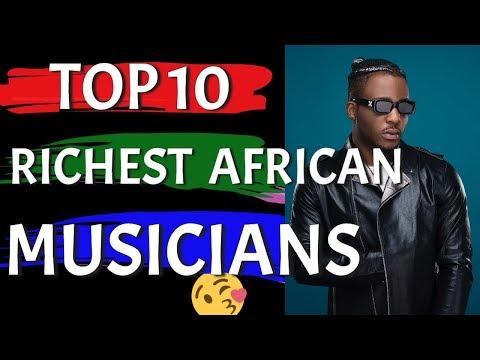 Top 10 Richest African Musicians