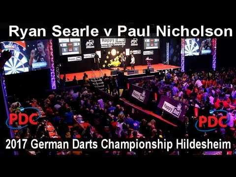 2017 German Darts Championship Hildesheim Ryan Searle v Paul Nicholson |  First Round