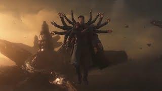 Железный человек и Доктор Стрэндж против Таноса   Мстители  Война бесконечности