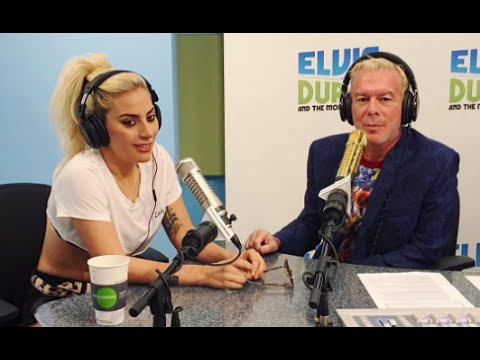 Lady Gaga on The Elvis Duran Show - 2016