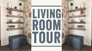 Modern Farmhouse Living Room Tour