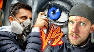 2 Artists paint PORTRAIT of each other! (Battle SMOE vs DOKE)