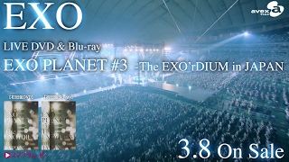 EXO / LIVE DVD&Blu-ray「EXO PLANET #3 – The EXO'rDIUM in JAPAN」SPOT動画(30sec)