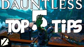 Dauntless Top 5 Tips For Open Beta
