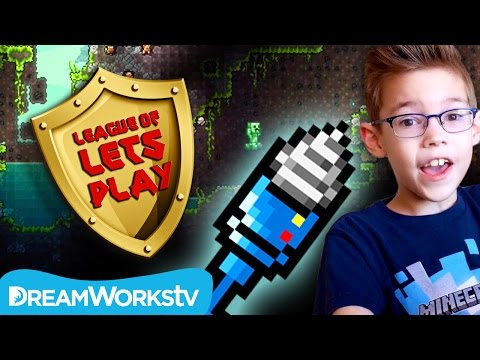 How to Get a Drill in Terraria    LEAGUE OF LET'S PLAY