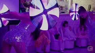 Шоу балет световое шоу  на свадьбу праздник Москва, Гомель.