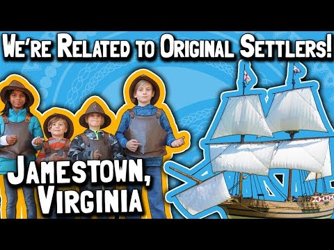 50k Subscriber Milestone Trip (Day 7): Jamestown, Virginia // We're Related to Original Settlers!