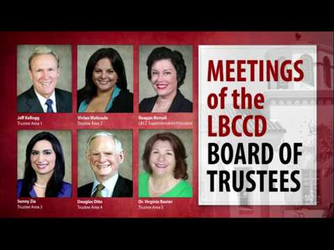 LBCCD - Board of Trustee Meeting - September 12,  2017