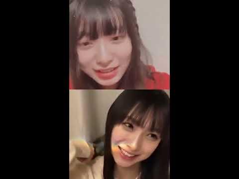 久保怜音 梅山恋和 『コラボインスタライブ』【AKB48 NMB48】2020年04月11日20時 #instgram #Satone_kubo #Cocona_umeyama.