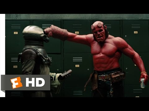 "Thumbnail: Hellboy 2: The Golden Army (7/10) Movie CLIP - Hellboy ""Smokes"" Johann (2008) HD"