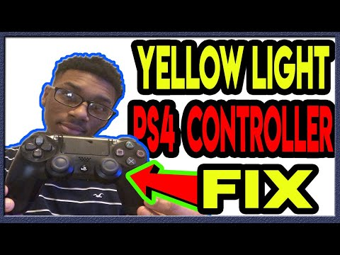 How To Fix PS4 Controller With Yellow Light Flashing When Plugged In (2019) *Easy*