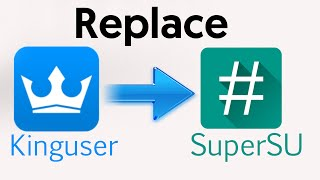 how to replace kinuser with supersu