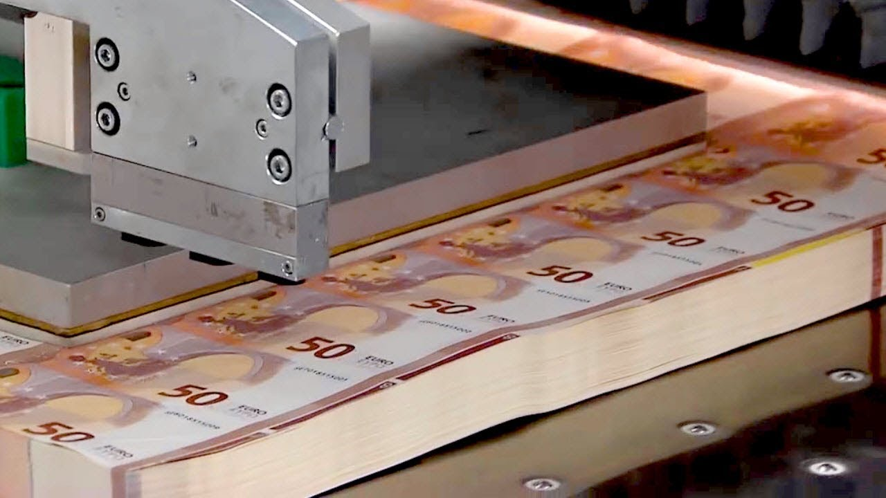 How Money Is Made - Making of the New 50 Euro