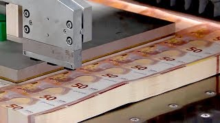 How Money Is Mąde - Making of the New 50 Euro