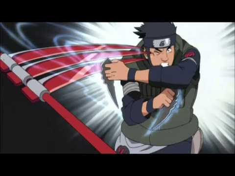 Asuma's Last Fight AMV  - Closer girl version