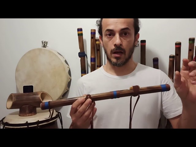 Native Flute Tips on Drone