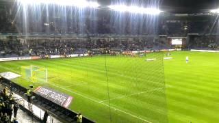 JUMP på Brøndby Stadion + sjov fan :)