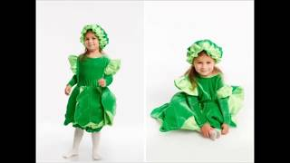 костюм Капуста для девочки  Магазин GrandStart.ru