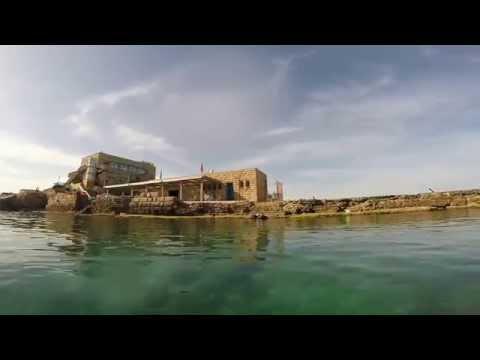 Zlila Team - The Ancient harbor of Ceasaria 16.05.2014